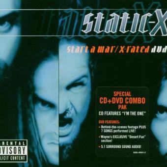Static-X – Start a War (CD + DVD)